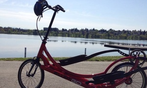 Precor Home Fitness: Four-Hour ElliptiGO Rental for One or Two at Precor Home Fitness (Up to 79% Off)