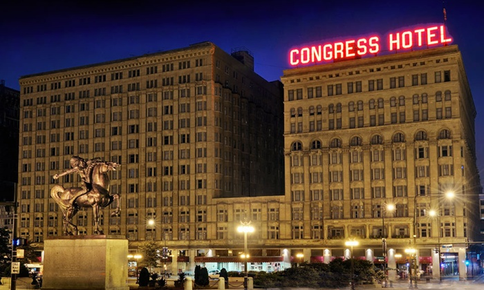 null - Chicago: Stay at The Congress Plaza Hotel in Chicago