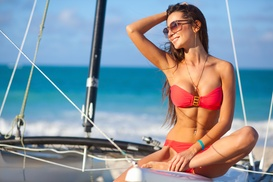 A Custom Airbrush Tanning Session at Sunplus Tanning (50% Off)