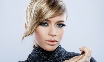 Haircut, Conditioning, and Style with Optional Highlights or Color from Brenda at Shear Dollz (Up to 68% Off)