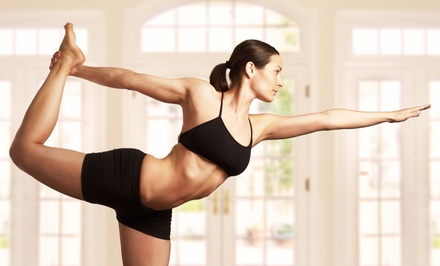 5 or 10 Hot Yoga Classes, or a 1-Month Gym Membership at Image Fitness for Women (Up to 56% Off)
