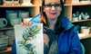 Crankpots Ceramics Studio - South Central Edmonton: $25 for Pottery-Painting Outing with Glazing and $37 Worth of Ceramics at Crankpots Ceramic Studio (Up to $50 Value)