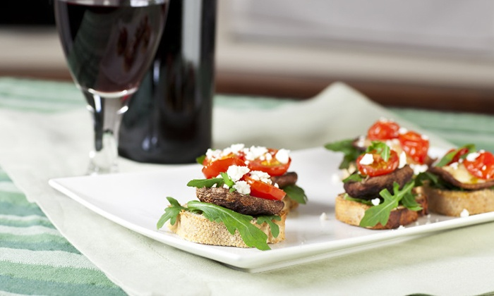 My Wine Cellar - Gilbert: Wine Flight and Bruschetta Board for Two or Four at My Wine Cellar (55% Off). Four Options Available.