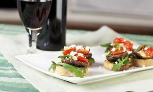 My Wine Cellar: Wine Flight and Bruschetta Board for Two or Four at My Wine Cellar (55% Off). Four Options Available.