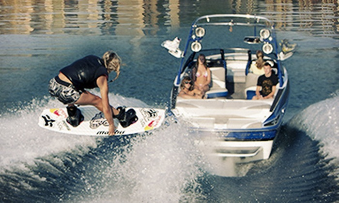 Wakeboard Chicago - North Avenue Beach: $69 for a Weekday Wakeboarding or Wakesurfing Lesson with Gear from Wakeboard Chicago ($149 Value)