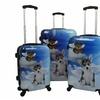 Chariot Dog Dream Hardside Spinner Luggage Set (3-Piece)