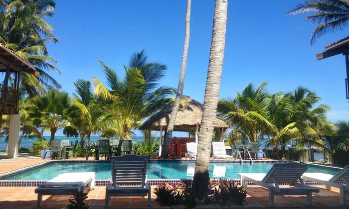 Ambergris diver 39 s resort in san pedro bz groupon getaways - Ambergris dive resort ...