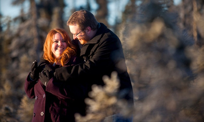 Aspect Alaska Photography - Anchorage: Couples Photo Shoot with DVD and Prints at Aspect Alaska Photography (Up to 75% Off). Two Options Available.