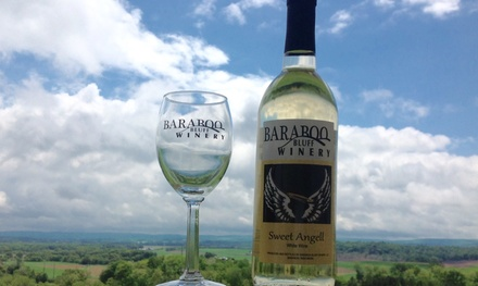 Up to 50% Off wine tasting and tour at Baraboo Bluff Winery LLC