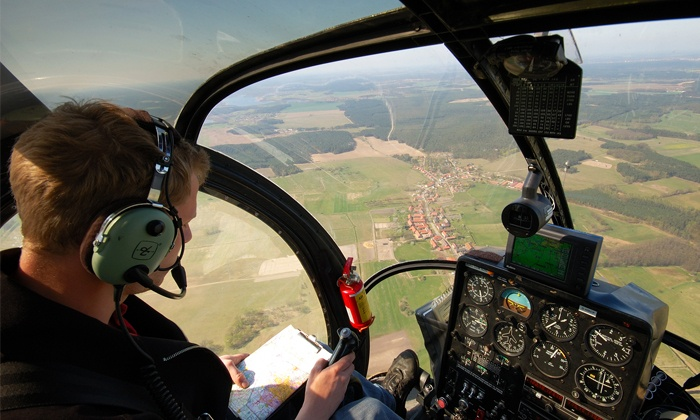 TEI - Montgomery County Airpark.: Two-Hour Flight Lesson or Sight-Seeing Flight for Up to Three from TEI (Up to 50% Off)