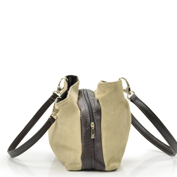 88937e5a91 Sac en cuir nubuck italien Carla Belotti   Groupon Shopping