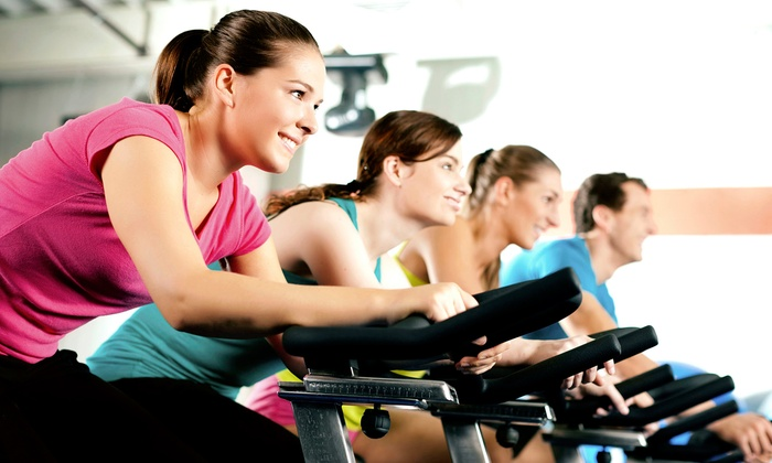Real Ryder Revolution - Near North Side: Five Indoor-Cycling Classes or One Month of Unlimited Classes at Real Ryder Revolution (Up to 57% Off)