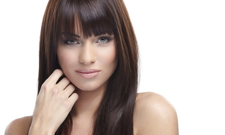 Haircut, Color, and Style from Hair & Makeup by Cheyenne Wright (55% Off)