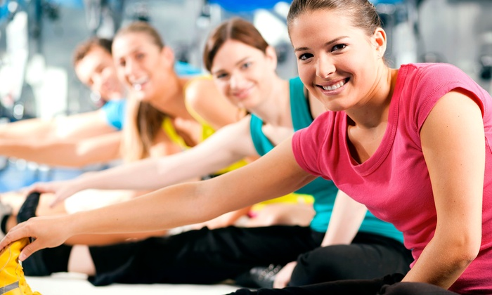 Gold's Gym - Multiple Locations: 10 or 20 Group Fitness Classes, or a 99-Day Membership with Unlimited Classes at Gold's Gym (Up to 75% Off)