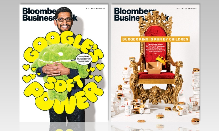 Bloomberg Businessweek: 1- or 2-Year Bloomberg Businessweek Subscription with iPad and iPhone Access for $19 or $33