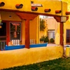 Adobe-Style Hotel in Taos