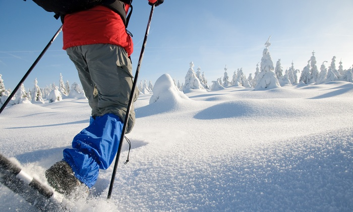 Whittaker Mountaineering - Ashford: Snowshoe-Rental Equipment from Whittaker Mountaineering (Up to 53% Off). Two Options Available.