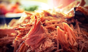 Backyard BBQ: Barbecue and Drinks at Backyard BBQ (Up to 46% Off). Two Options Available.