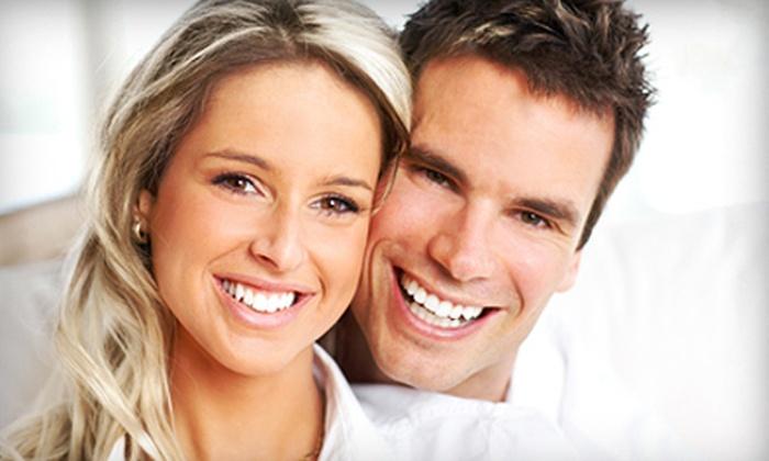 Dr. Bhavani Sriramaneni Cosmetic & Family Dentistry - Multiple Locations: Zoom! Teeth-Whitening Treatment for One or Two at Dr. Bhavani Sriramaneni Cosmetic & Family Dentistry (Up to 79% Off)