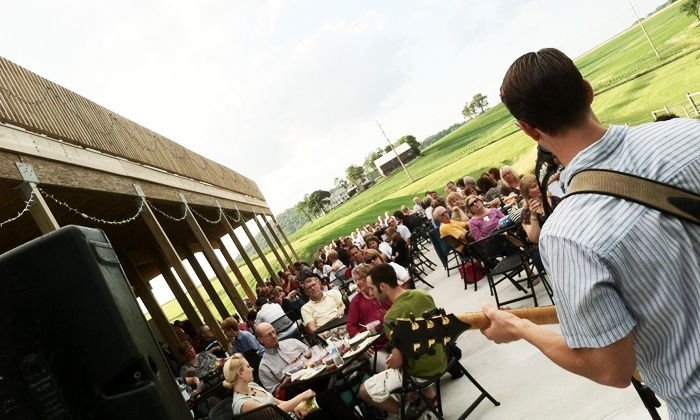 The Vineyard at Hershey - Londonderry: Concert TIckets for Two to the Decked Out Live Entertainment Series at The Vineyard at Hershey (Up to 48% Off)