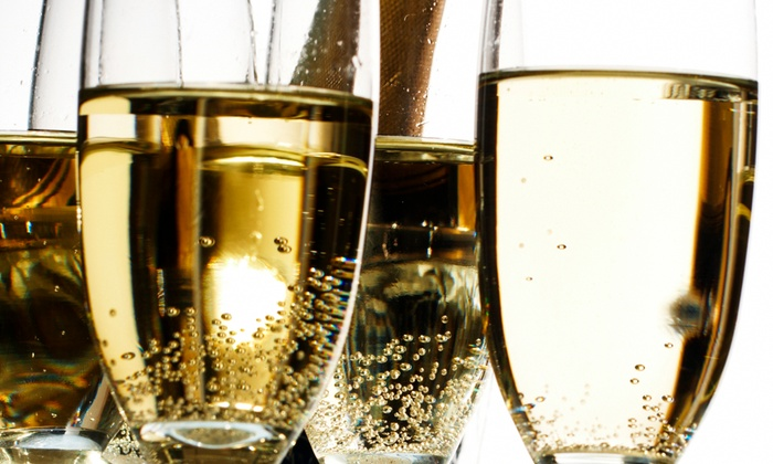 The Night of Champagne - Midtown East: Champagne Tasting at The Night of Champagne on Wednesday, November 12 (50% Off). Four Options Available.