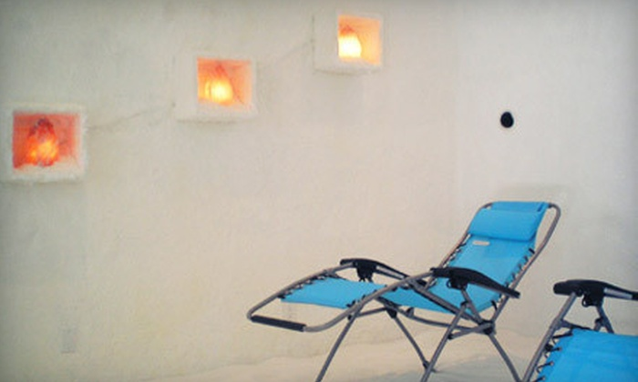 OC Salt Therapy - Garden Grove: One 45-Minute Salt-Therapy Session for One or Two People at OC Salt Therapy (Up to 68% Off)