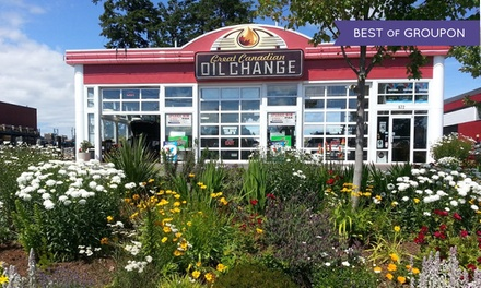 $34.99 for a Standard Oil Change at Great Canadian Oil Change (Up to $56.98 Value)