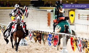 Tournament Show And Dinner For A Child Or Adult With Optional Vip Package At Medieval Times (up To 43% Off)