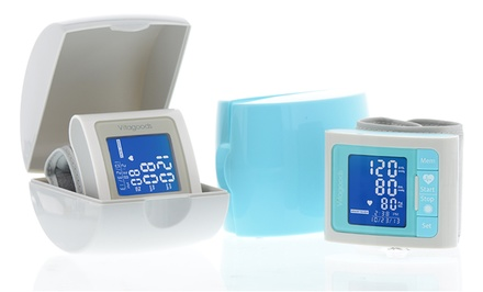 Professional Wrist-Cuff Blood-Pressure Monitor