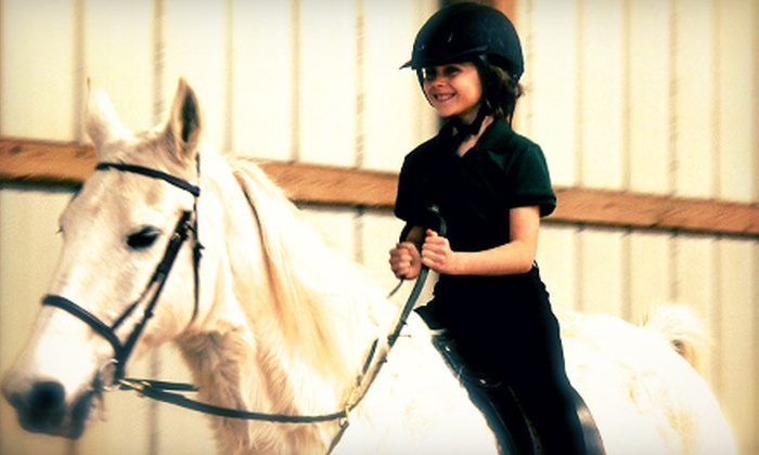 Beasom Stable - Bluegrass: $35 for Two Introductory Horseback-Riding Lessons at Beasom Stable ($80 Value)