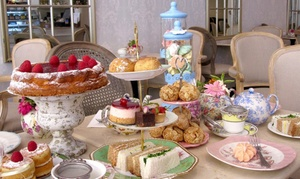 Fait Maison: Regular or Gluten-Free Afternoon Tea for Two or Four at Fait Maison, Five Locations (Up to 58% Off)