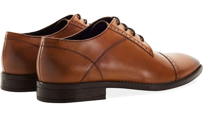 0adddedf1c Redfoot Leather Derby Shoes   Groupon
