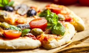 La Taverna: Menu con tagliere tipico, pizza a scelta anche senza glutine, dolce e birra per 2 o 4 persone a La Taverna (sconto 66%)