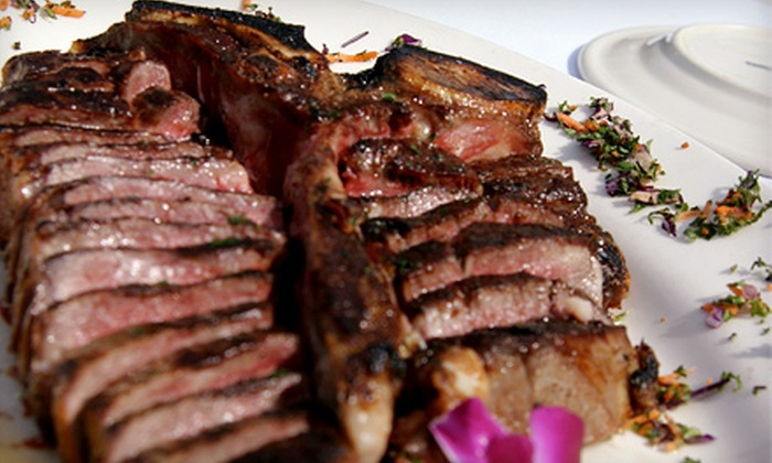 Pace's Steak House - Hauppauge: $30 for $60 Worth of Aged Steaks, Seafood, and Wine at Pace's Steak House