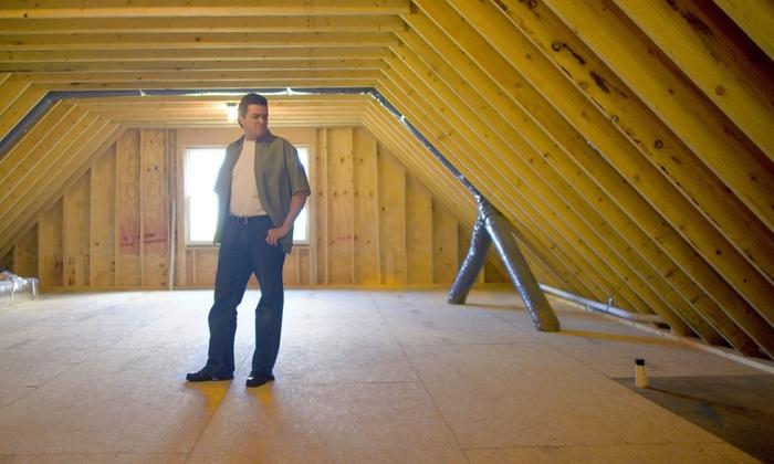 Attic Flooring 99 B Warm Developments Groupon