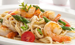 Marco's Waterfront Grill: Seafood & Upscale American Dinner Cuisine at Marco's Waterfront Grill (Up to 42% Off). Three Options Available.