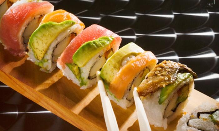 Wasabi Sushi - Oceanside: $20 for $40 Worth of Sushi and Japanese Cuisine at Wasabi Sushi