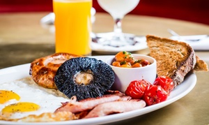 Minibar : Sunday Party Buffet-Style Brunch for Two or Four with Champagne and Choice of Juice at Minibar (40% Off)