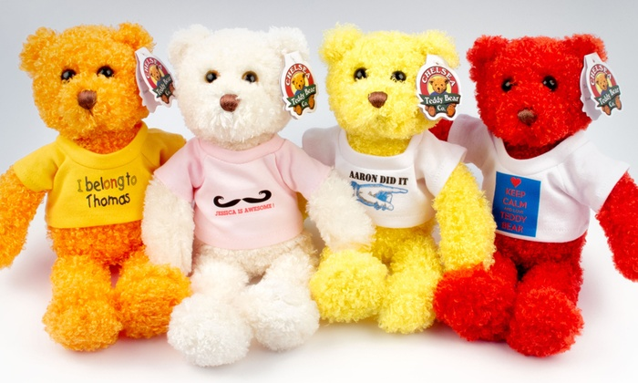 Chelsea Teddy Bear Co. - Chelsea: Two or Four Tropical Flavor Bears or Stuff-Your-Own Bear Birthday Party for 10 (Up to 62% Off)