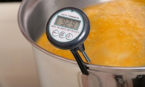 Pocket-Sized Digital Food Thermometer