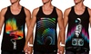 INTO THE AM Men's Space Tanks: INTO THE AM Men's Space Tanks