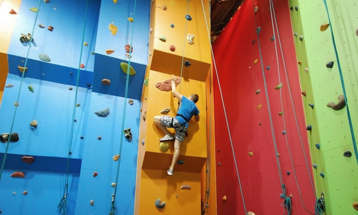 Kidz Rock - Richmond Hill: Eight-Week Rock-Climbing Program for One or Two Children at Kidz Rock (Up to 47% Off)