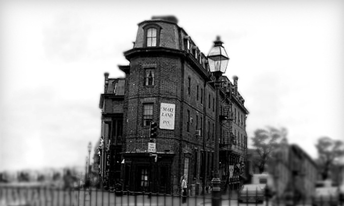 Tours & Crawls - Multiple Locations: Walking Ghost Tour or Pub Crawl for One, Two, or Four from Tours & Crawls (Up to 58% Off)