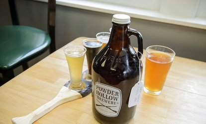 image for Up to 43% Off Beer Flights at Powder Hollow Brewery