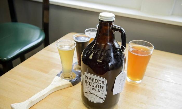 Powder Hollow Brewery - Hazardville: Up to 45% Off Beer Flights at Powder Hollow Brewery