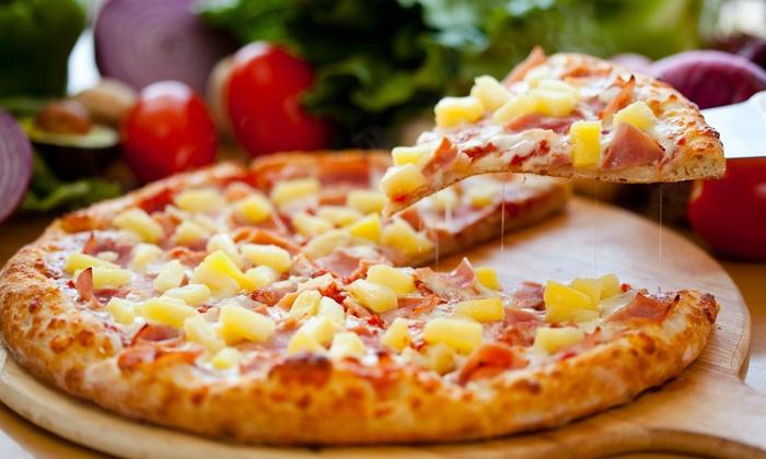 Pizza Man-Norwalk - Norwalk-La Mirada: One Pizza with Purchase of One Pizza at Pizza Man-Norwalk