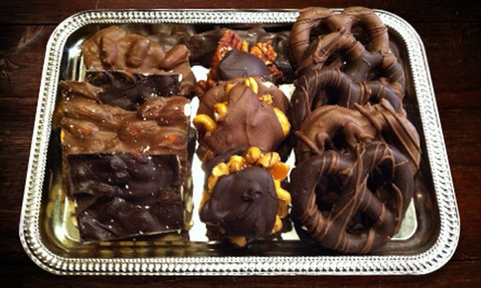 Chocolate Chic at Attrezzi - Financial District: $20 for $40 Worth of Handmade Chocolates, Fudge, and Sweets at Chocolate Chic at Attrezzi