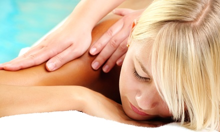 60-Minute Therapeutic Massage, Facial, or Both at Lisa's Acupuncture Clinic (Up to 42% Off)