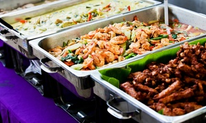 The Village Buffet: All You Can Eat Buffet with Bottomless Soda for R199 for Two at The Village Buffet (50% Off)