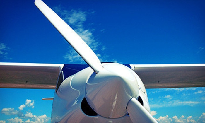 Brett Aviation - Martin State Airport: Discovery Flight with Logbook and Map or Sightseeing Flight at Brett Aviation (Up to 51% Off)